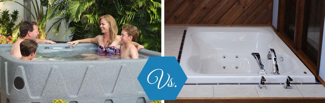 Hot Tub vs. Jetted Bathtub